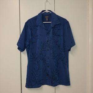 Like New Van Heusen Short Sleeve Button Down Shirt